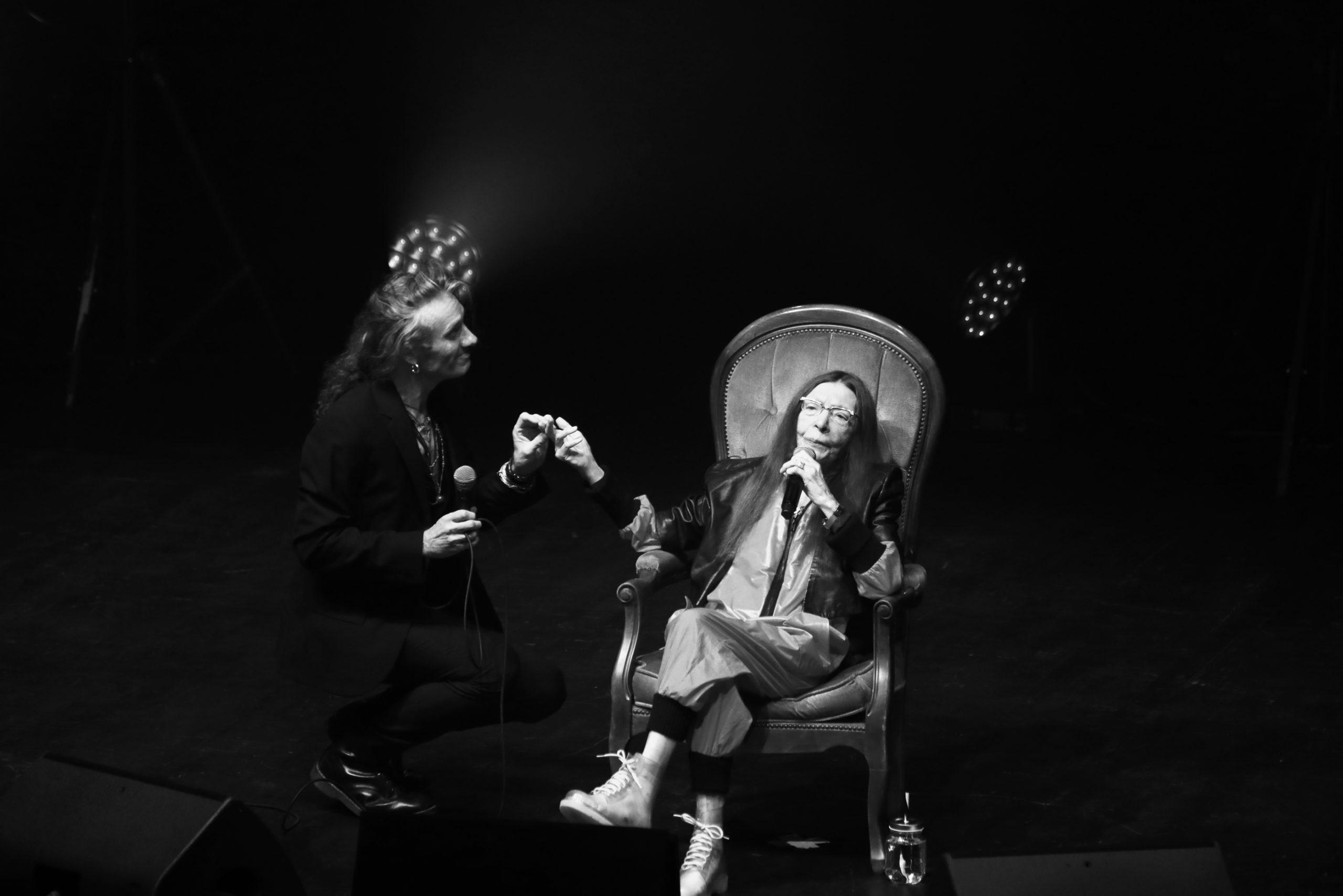Brigitte Fontaine et Yan Péchin