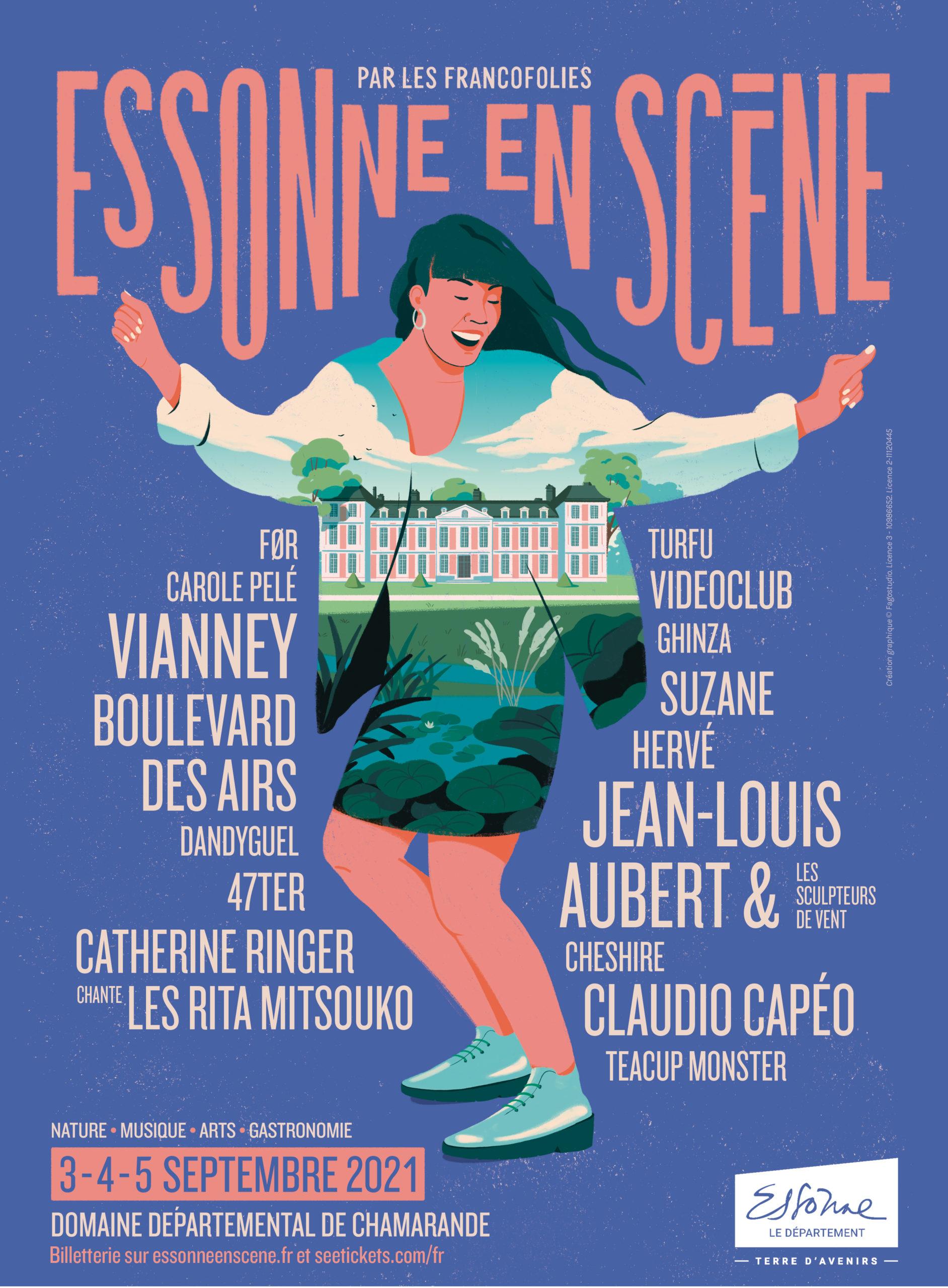 Essonne en Scène 2021 affiche