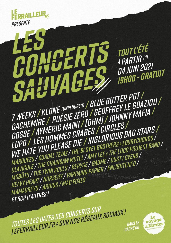 Concerts Sauvages du Ferrailleur
