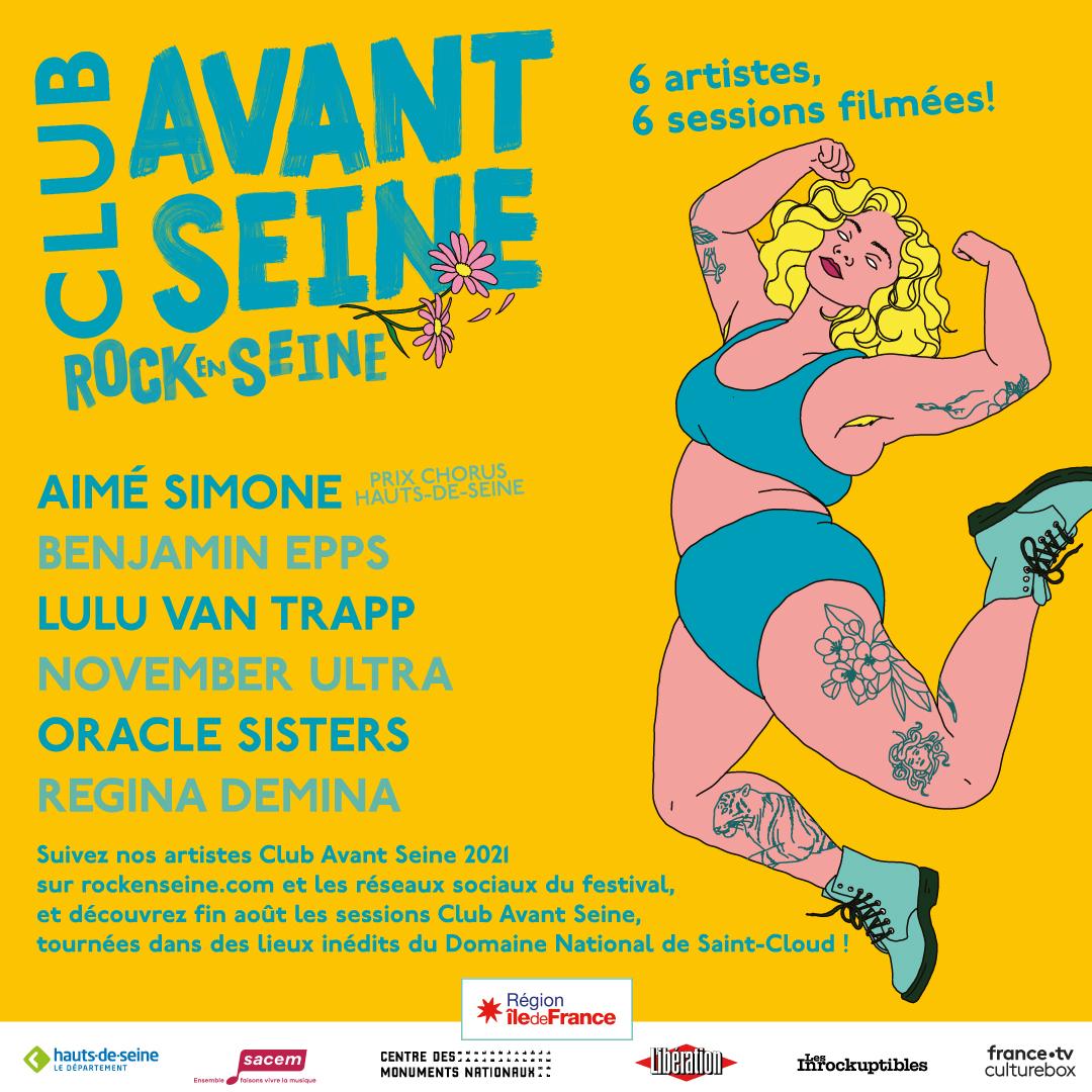 Affiche Club en Seine 2021