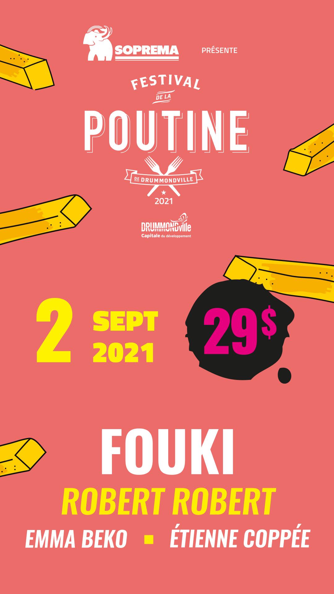 Festival de la poutine 2021 Drummondville